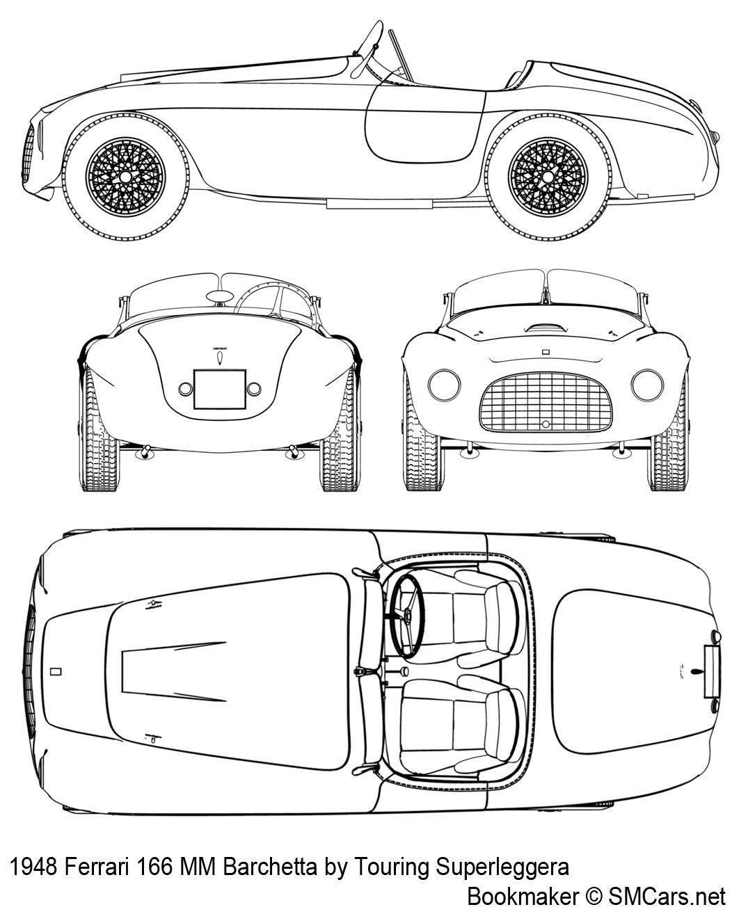 Ferrari 166 Mm Barchetta Smcars