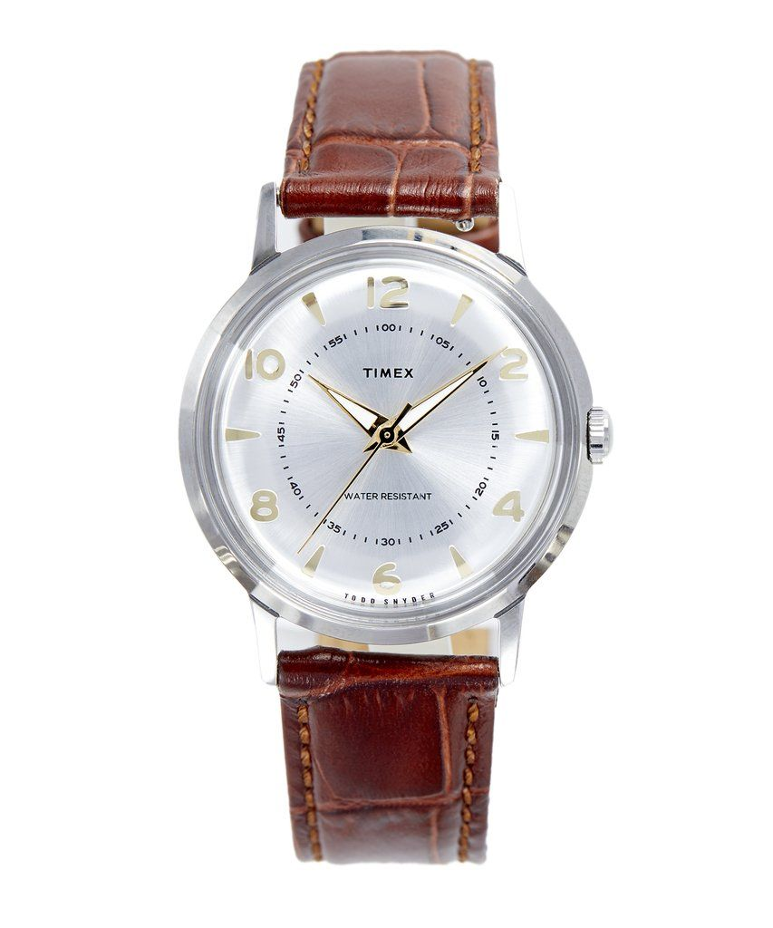 Timex Todd Snyder Welton Bi Metal Quartz Timex Timex Watches Classic Timepiece
