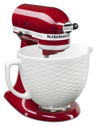 The new KitchenAid(R) Ceramic Bowl fits 4.5-quart and 5 ...