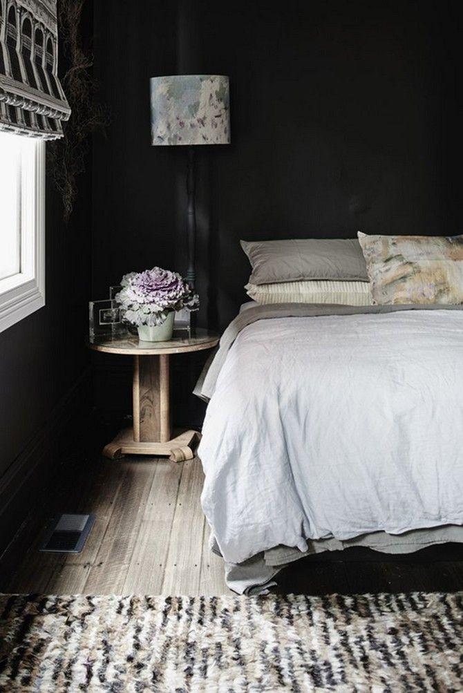 www.masterbedroomideas.eu   #blackdesign #blackinteriordesign #blackbedroom #blackbedroomdesign #blackbedroomideas