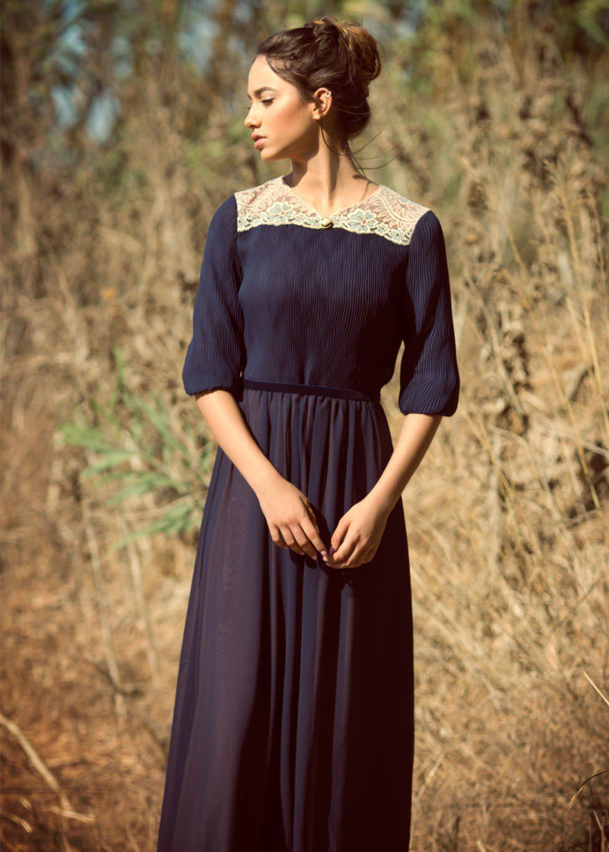 maxi dress vintage style area