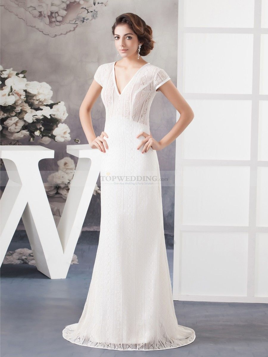 short lace wedding dress with sleeves best wedding dress for