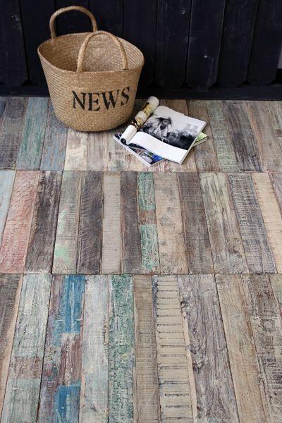 Reclaimed Wood Floor Tiles Floor Tiles Rugs Flooring Boot