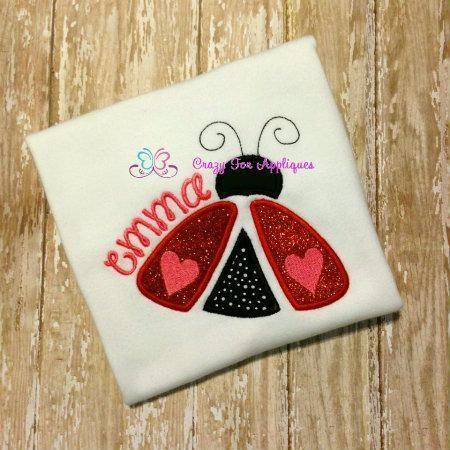 (10) Name: 'Embroidery : Love Bug