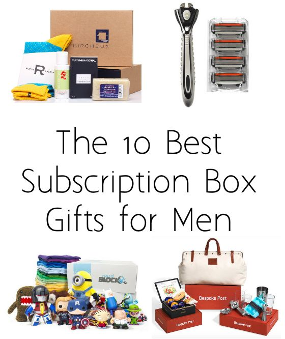 The 14 Best Subscription Box Gifts For Men 2019 Subscription Boxes