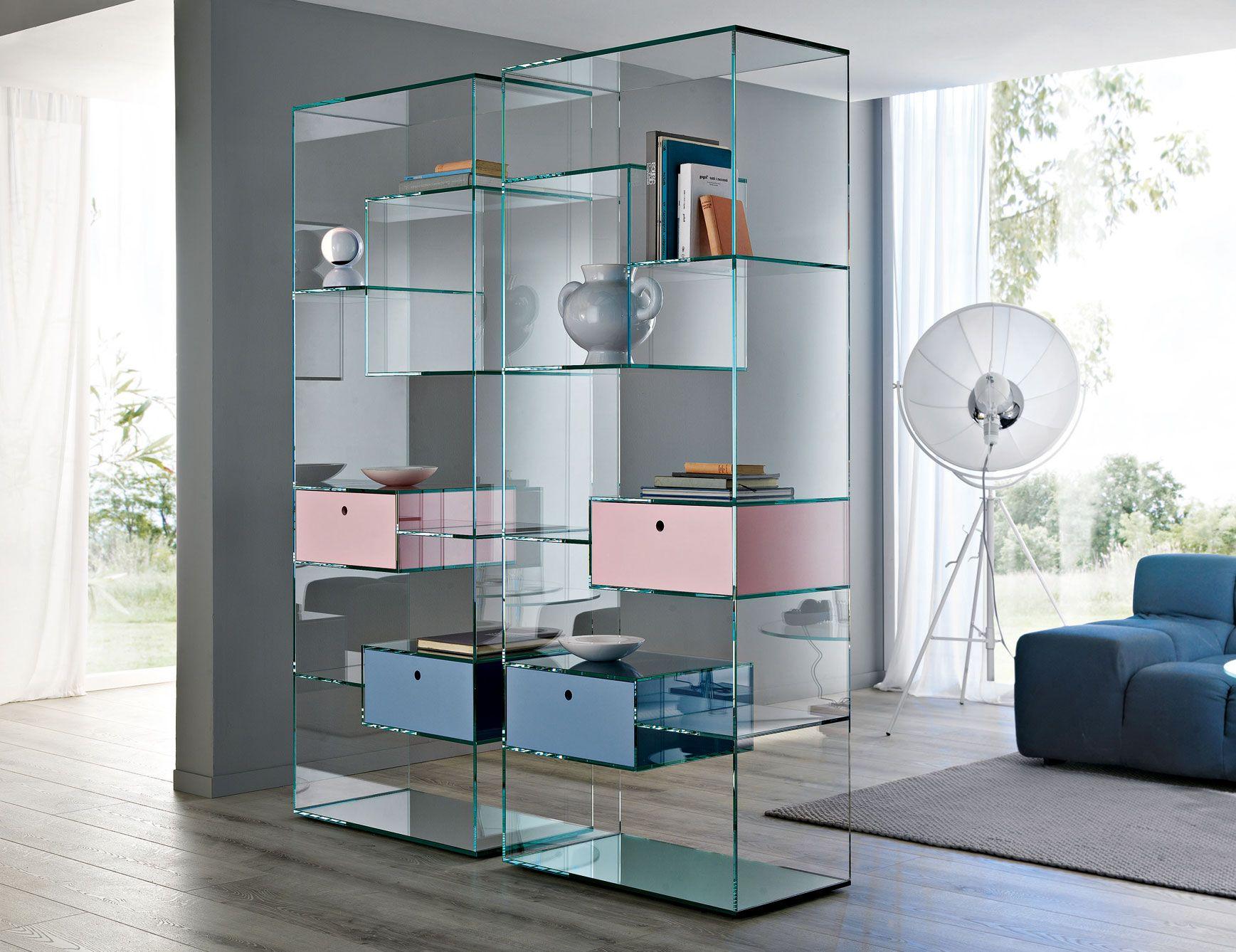 Furniture Cabinets Bookcases Liber A Bucherregal Aus Glas Regal Design Regal