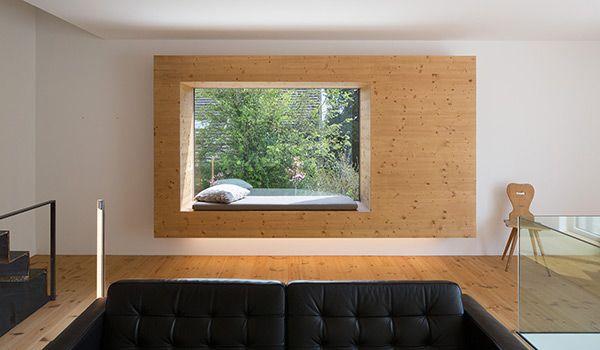 sitzfenster sitzfenster pinterest sitzfenster fenster und fensterb nke. Black Bedroom Furniture Sets. Home Design Ideas