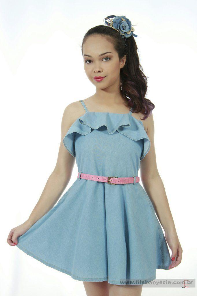 d4c925671a Veja nosso novo produto Vestido Infantil Diforini Moda Infanto Juvenil  010784! Se gostar