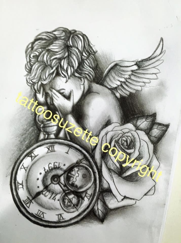 Skull And Clock Tattoo Drawing Old Tumblr Ideas Free Roman Sand Clock Tattoo Clock Tattoo Design Tattoo Drawings