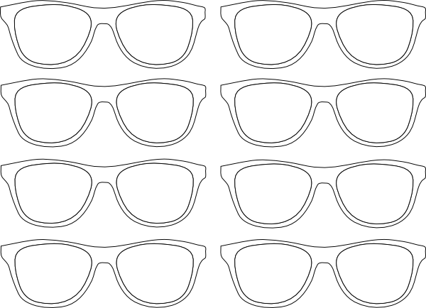Pin By Heather Nichols On Best Buddies Free Coloring Pages Nerd Glasses Printable Coloring Pages