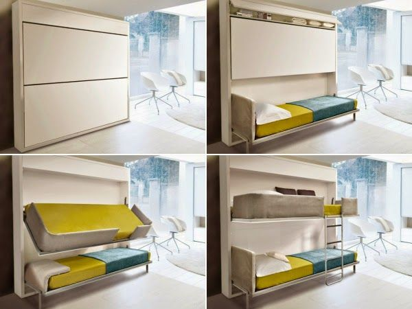creative bedroom furniture. Creative-furniture-ideas-space-saving-double-bed.jpg ( Creative Bedroom Furniture L
