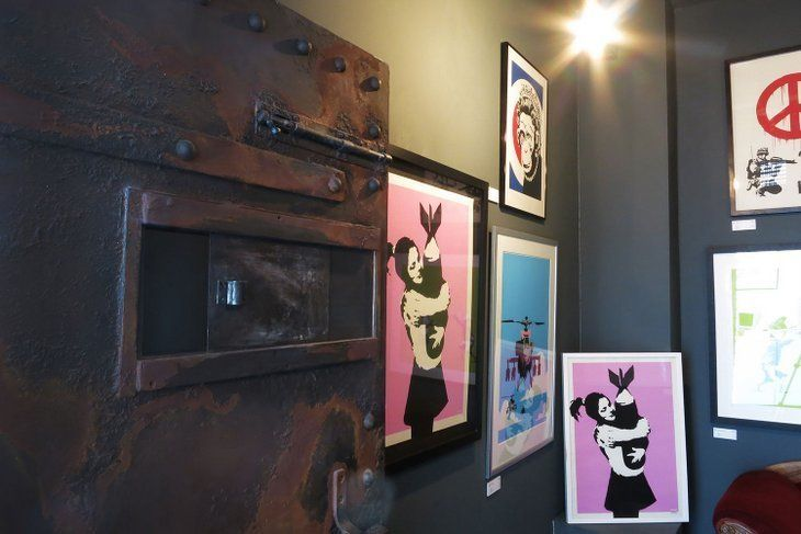 First permanent Banksy exhibition London