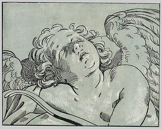 Bartolomeo Coriolano (Italian, ca. 1599–ca. 1676). The Sleeping Cupid, mid-17th century. After Guido Reni (Italian, 1575–1642). The Metropolitan Museum of Art, New York. Rogers Fund, 1922 (22.73.3-107)