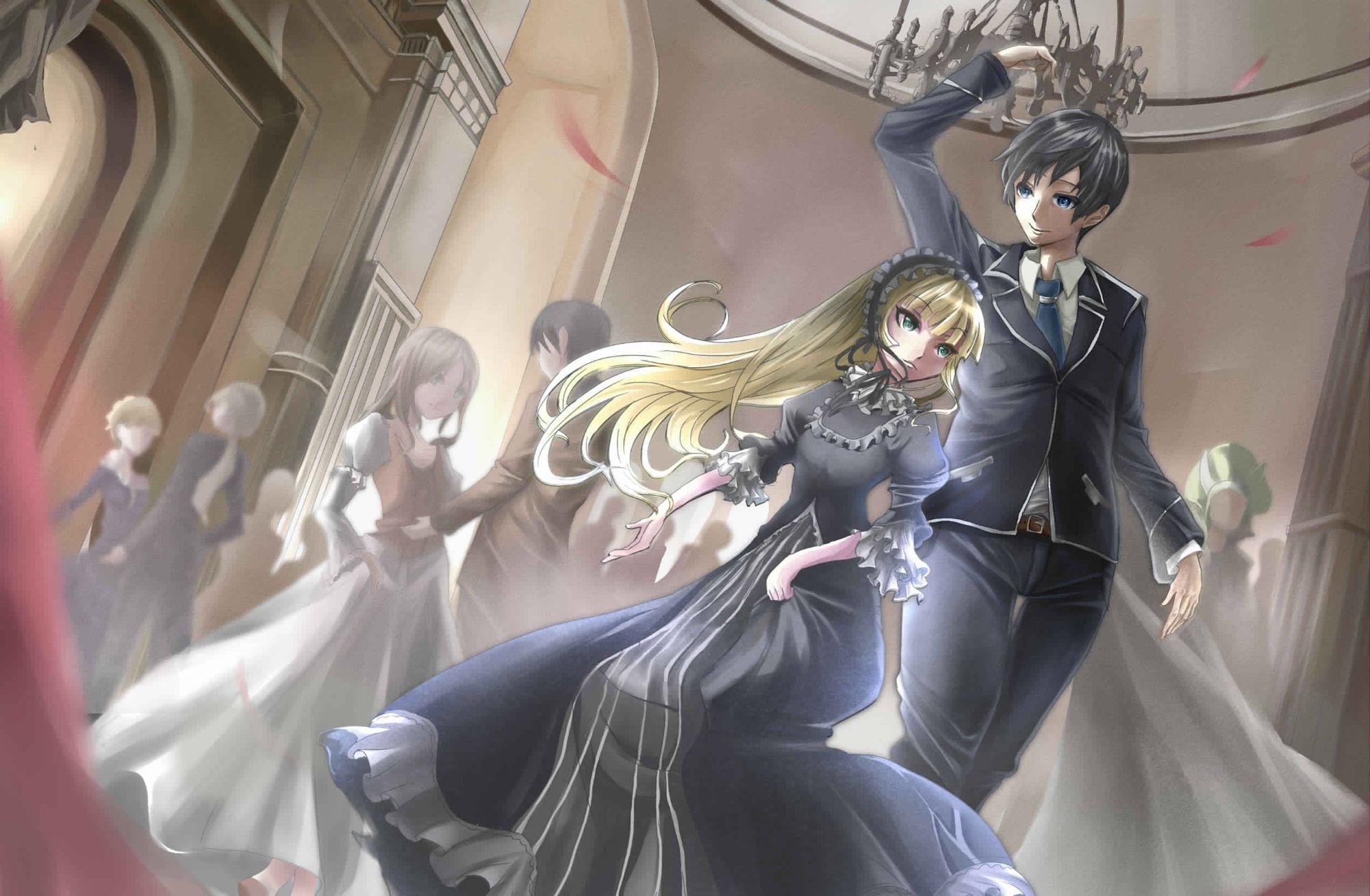 Victorique and Kazuya Gosick Gosick victorique, Anime