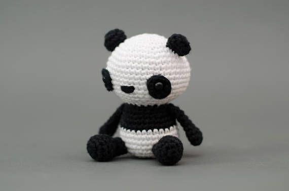 Puko der Panda Häkelanleitung Deutsch | Häkeln | Pinterest ...