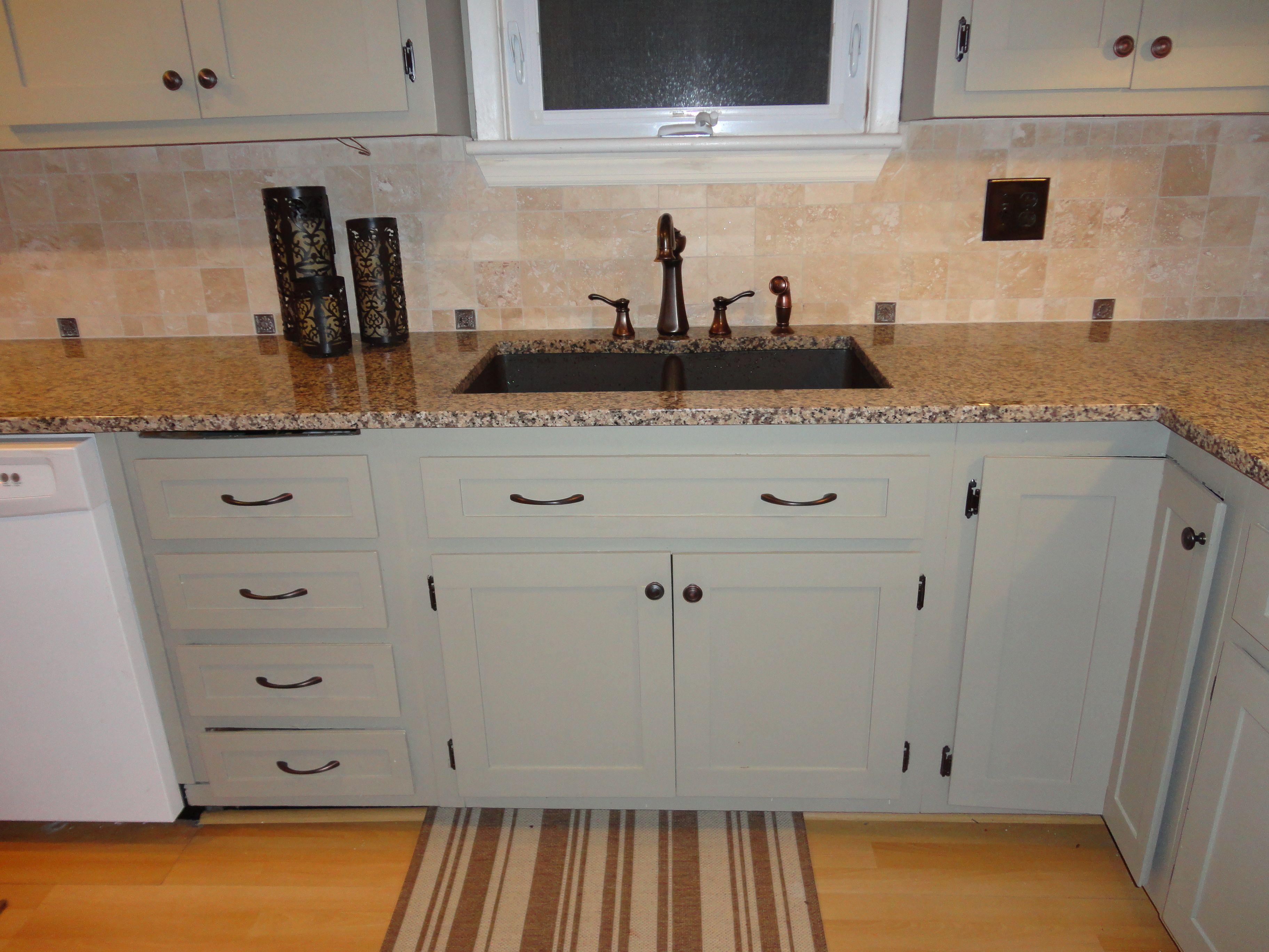 my painted cabinets! martha stewart ocean floor | house ideas