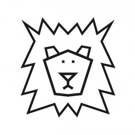 Masking tape kit DIY  - décoration murale - le lion | MilieO #maskingtapeart