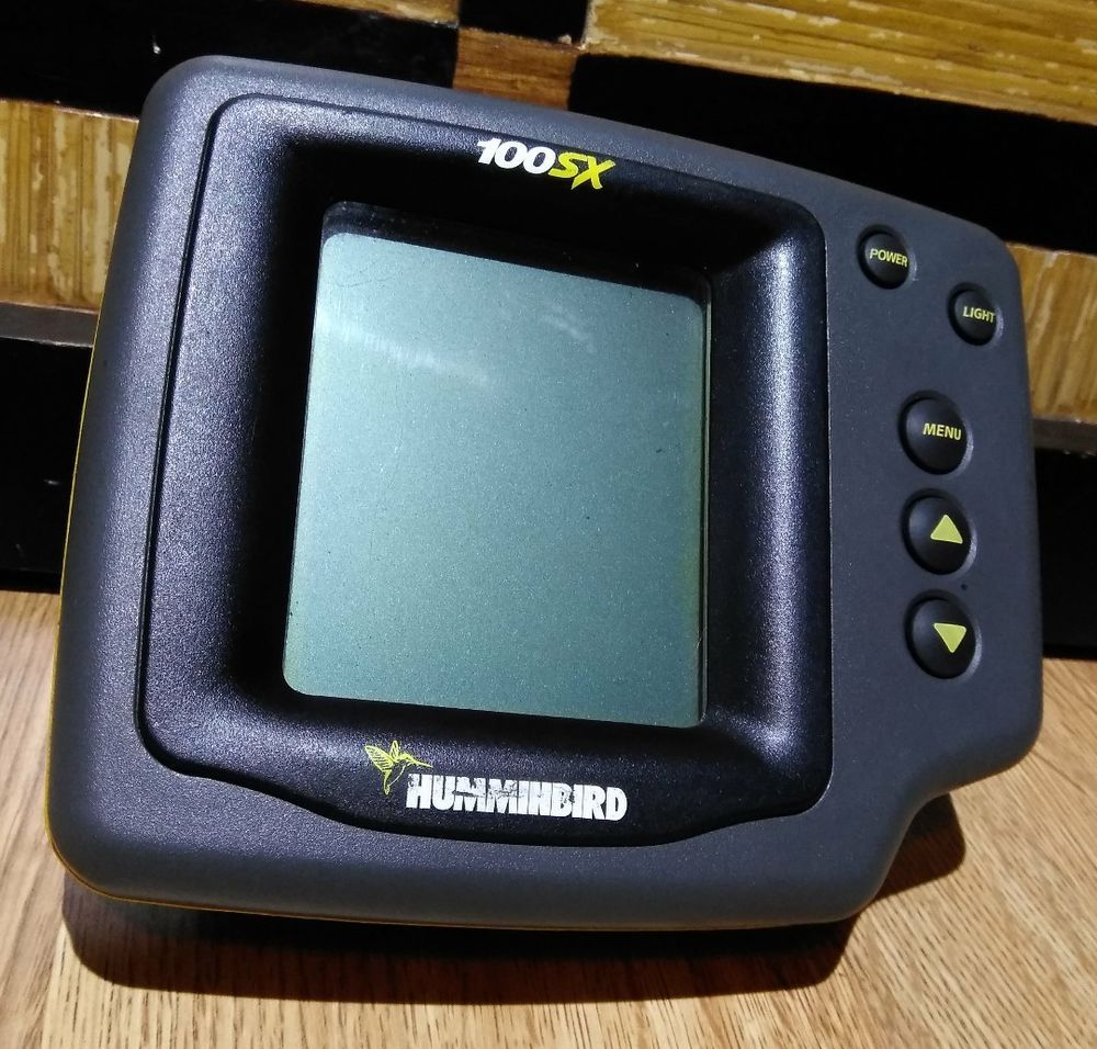 Humminbird Fish Find & Depth Monitor 100SX Head Unit Only