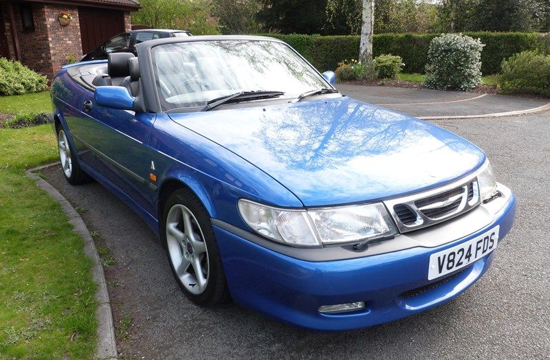 1999 SAAB 93 CABRIOLET Viggen For Sale in Warrington