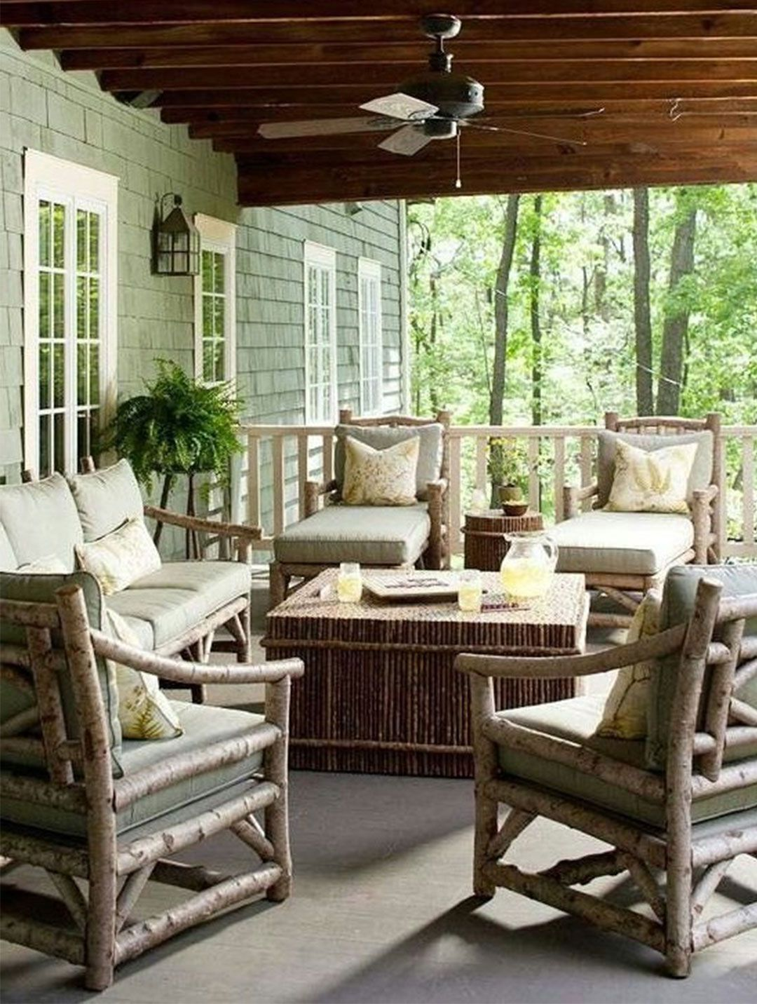 patio furniture design ideas Rustic outdoor furniture