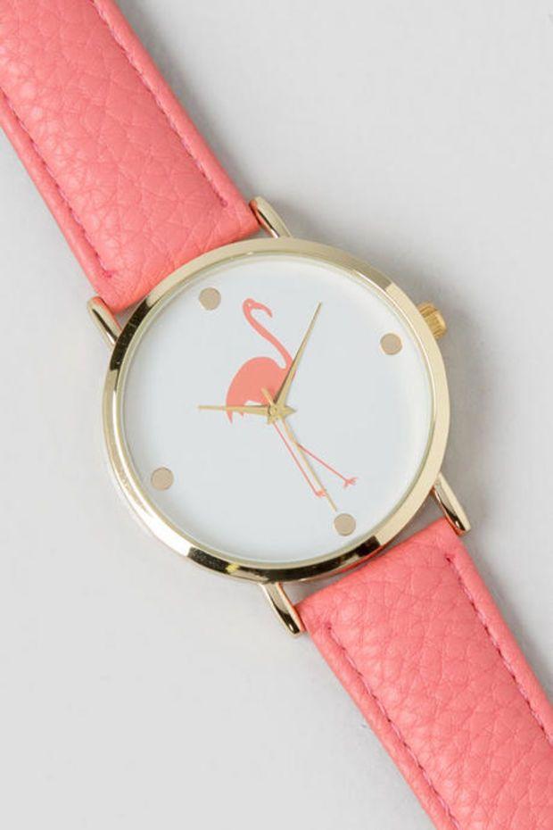 Flamingo watch stuff to buy pinterest fenicotteri for Fenicottero arredamento