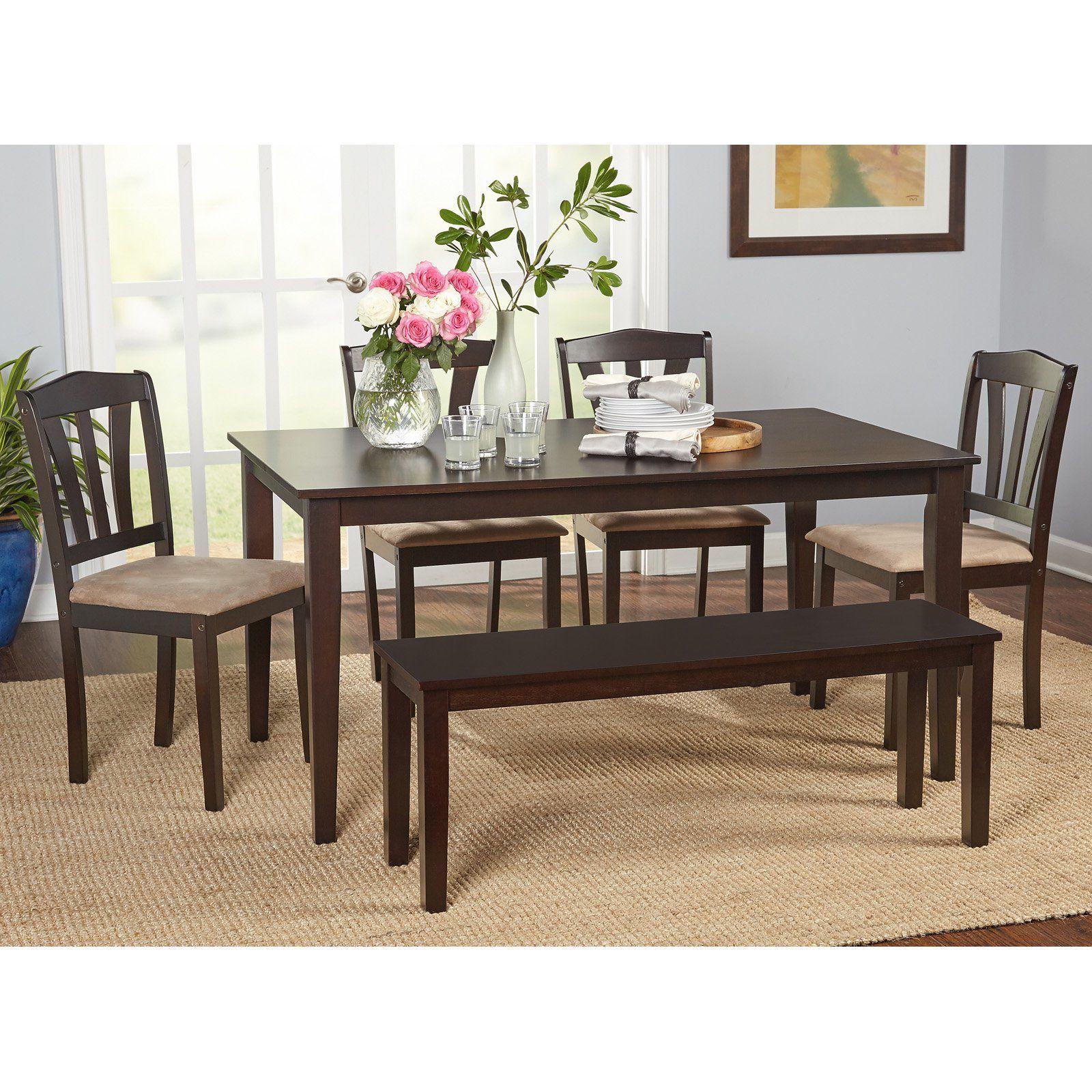 Target Marketing Systems Metropolitan 6 Piece Dining Table Set