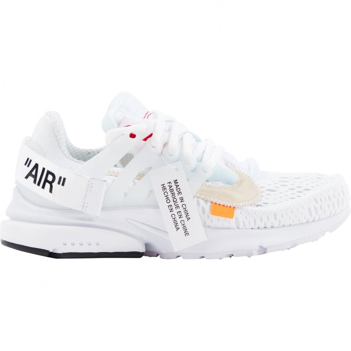 5da922a9eec2 Off-White Nike X Off White Nike X Presto White Cloth Trainers in ...