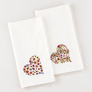 How cute are these?  Trying to start using cloth instead of paper towels...not an easy switch, fyi...