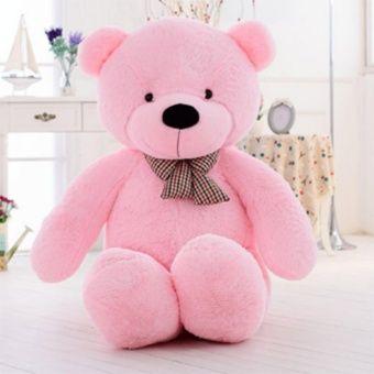 Giant Teddy Bear Purple Big Plush Stuffed Animals for Girls Children Girlfriend