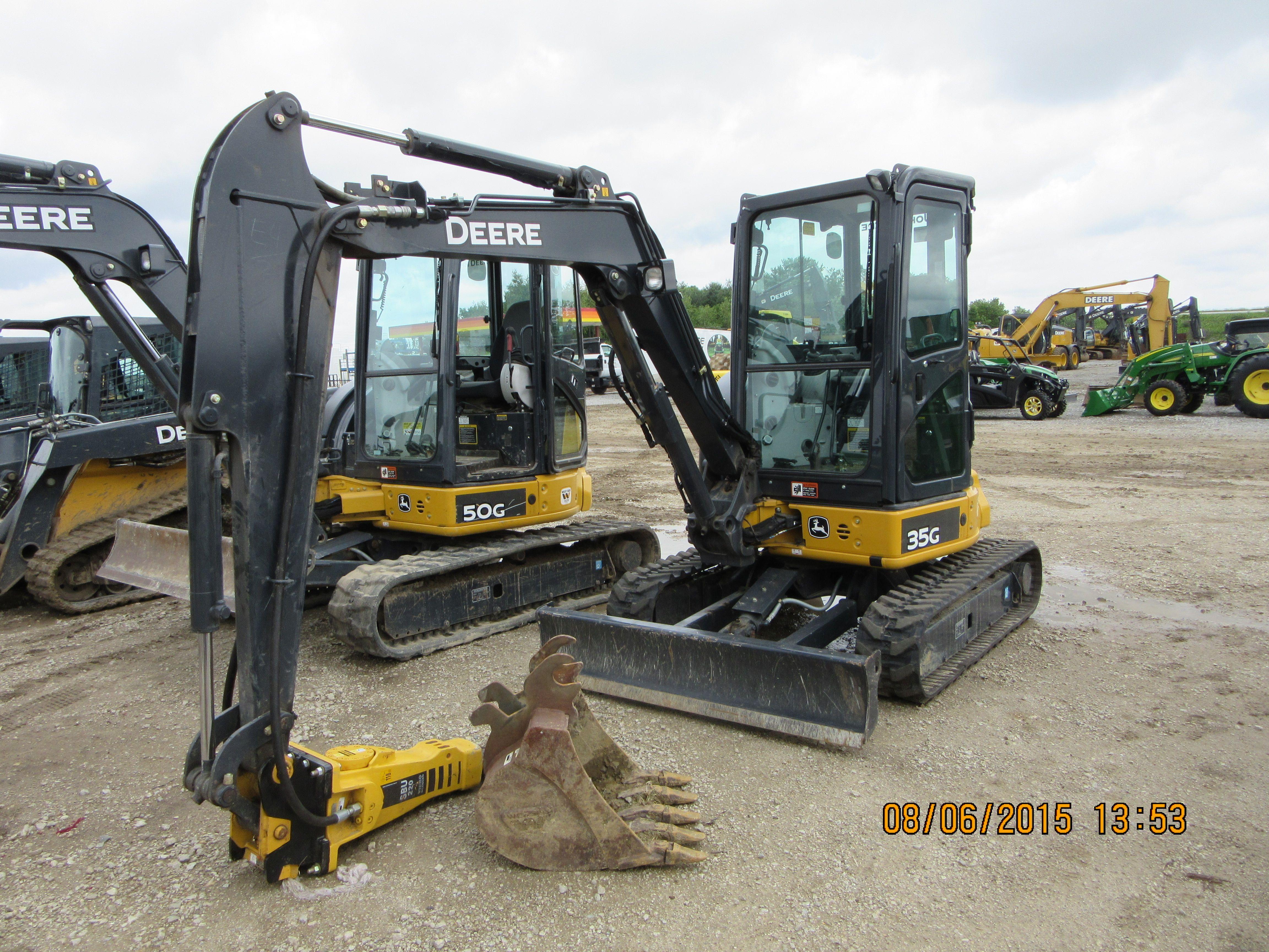 John Deere 35G | JD construction equipment | Tractors