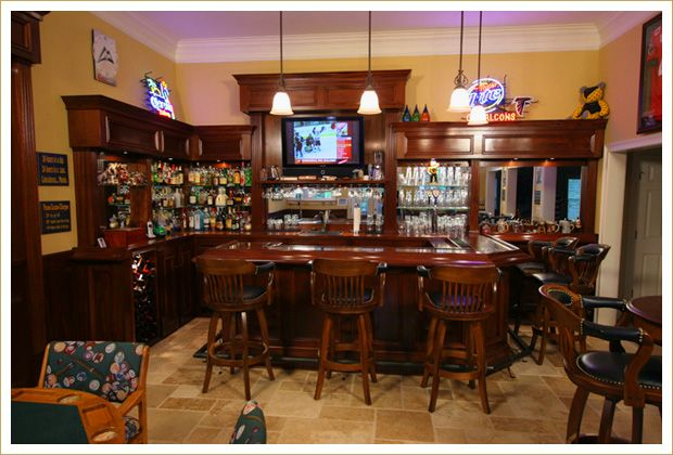 Classic Bar Bars For Home Custom Home Bars Home Pub