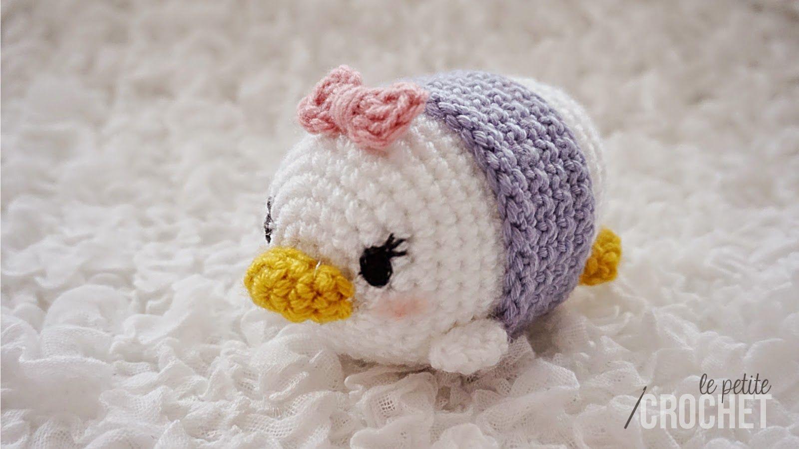 Free Amigurumi Disney Patterns : Daisy duck tsum tsum amigurumi crochet tsun tsun pinterest