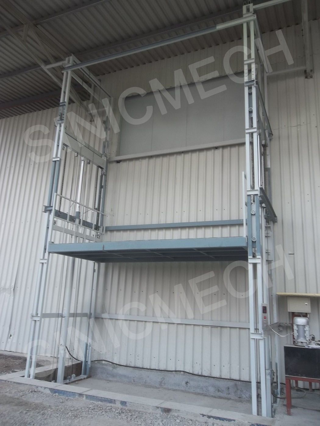 Mezzanine Floor Elevation : Cargo freight elevator is one ideal transported lifting