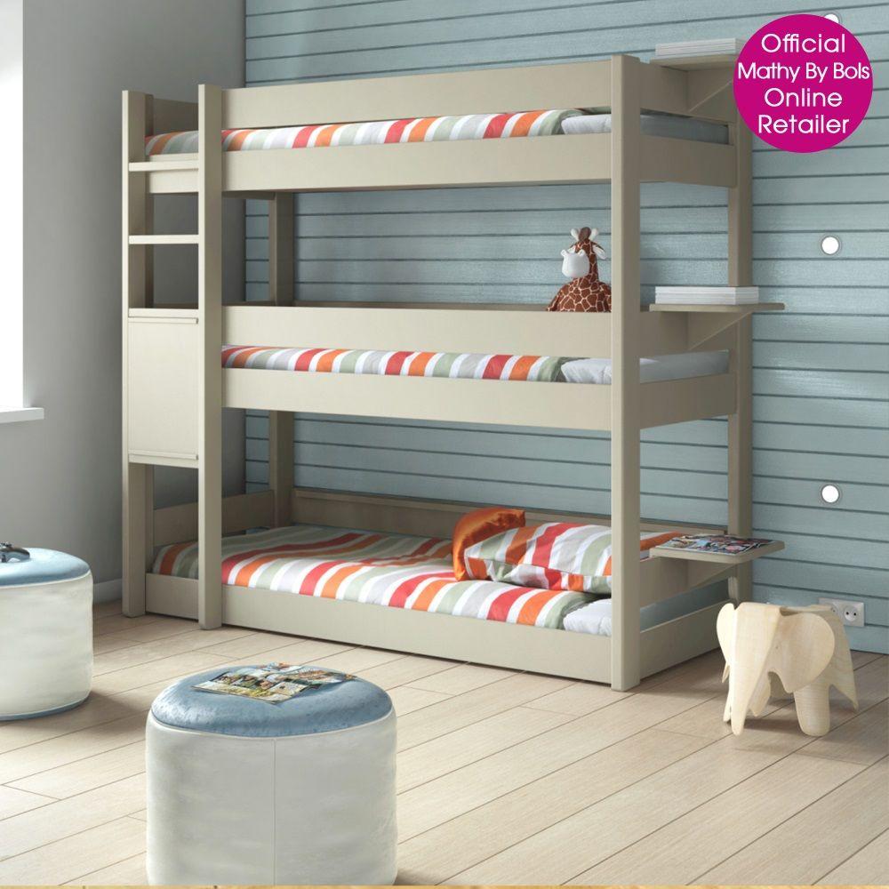 Mathy By Bols Kids Triple Bunk Bed In Dominique Design Malachi