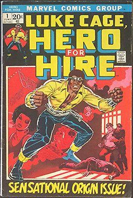 LUKE CAGE HERO FOR HIRE #1 1ST LUKE CAGE 1ST DIAMONDBACK NETFLIX TV SHOW HOT HTF https://t.co/1ex6wy7izp https://t.co/bbKhU8f1S5