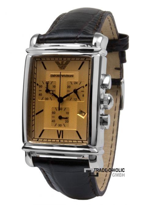 Emporio Armani Ar0285 Chronograph Herrenuhr Armani Uhren Uhren