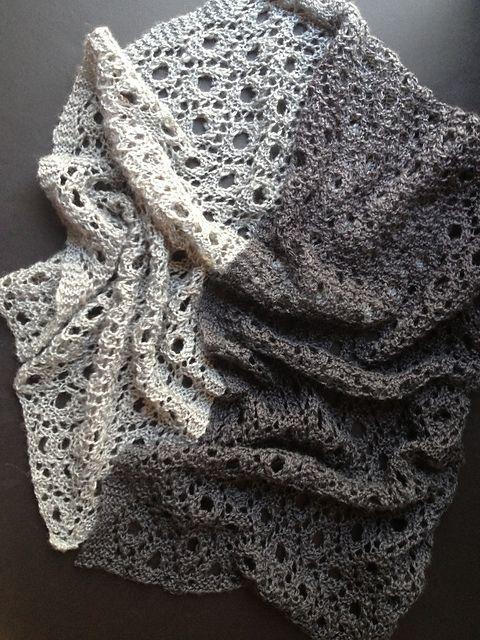 Перевод дизайна Reversible Circles of Lace | Knitting | Pinterest