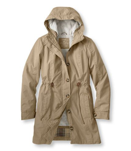 Women's Fleece-Lined Explorer Parka: Jackets and Coats | Free ...