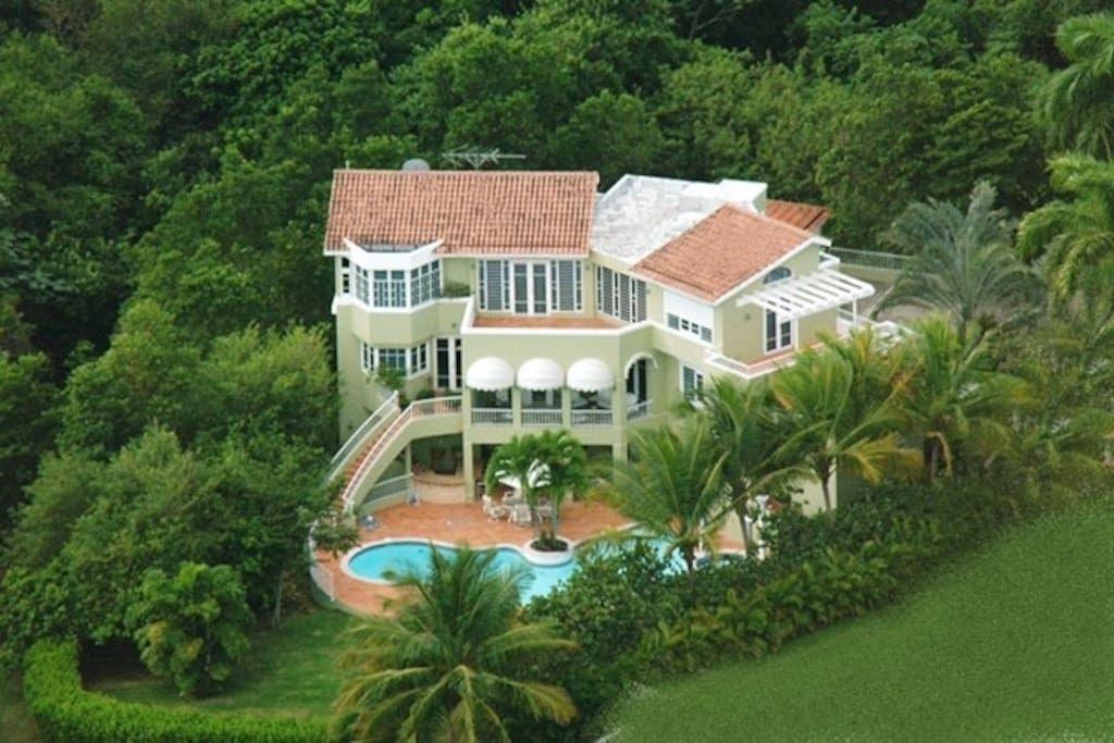 Wonderful Casa/depto. Entero En Humacao, Puerto Rico. A Spacious Private Home In  Palmas Del Mar, An Oceanfront Resort With Amenities: 2 Golf Courses, 20  Tennis Courts ...
