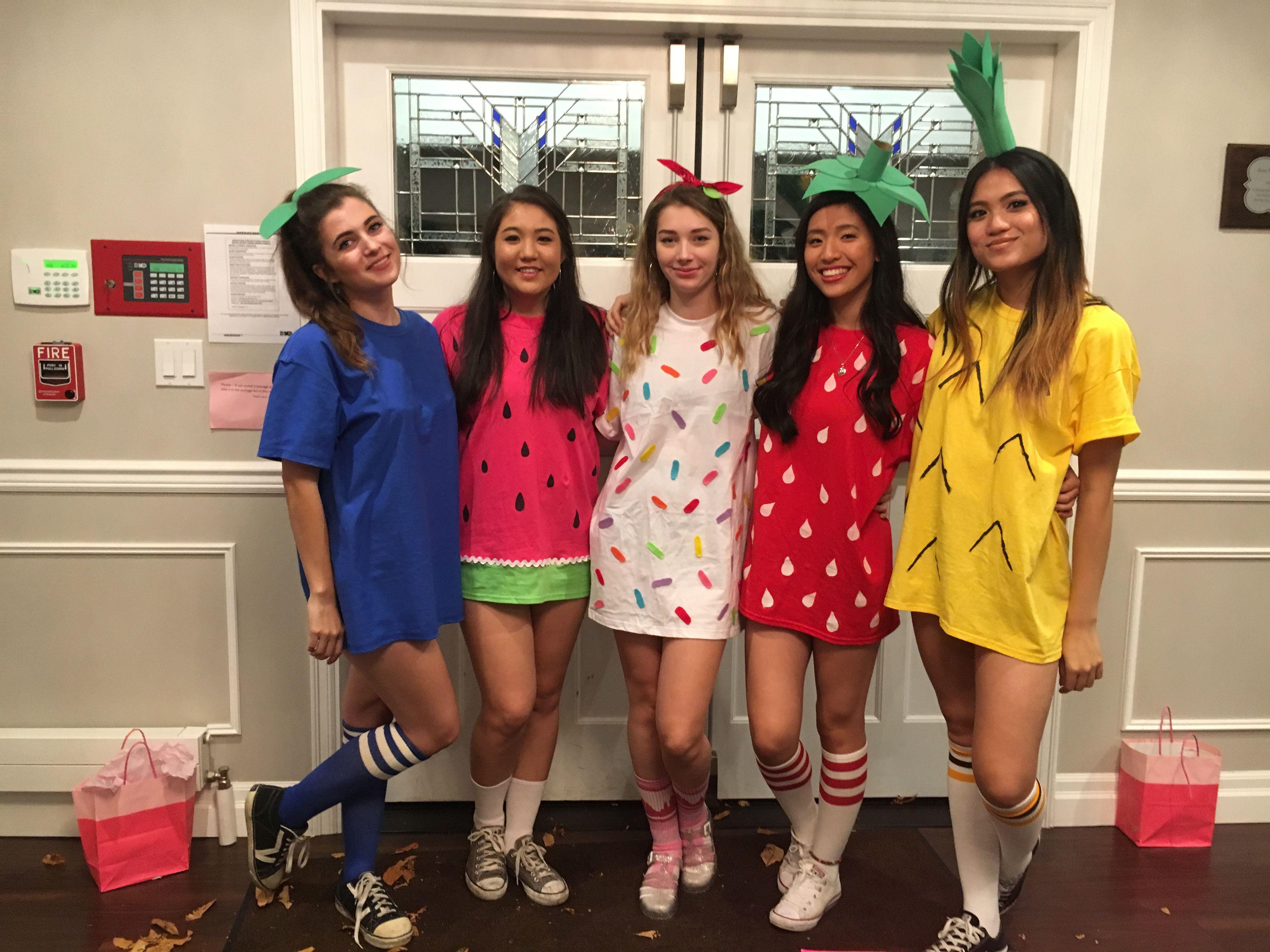 DIY Fruity Halloween Ideas #halloween #fruit #costume #idea