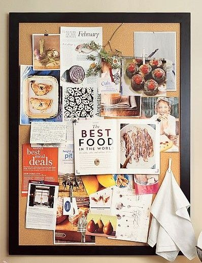 how to style your workspace when you love clutter on inspiring workspace with a cork wall creating a custom cork board for your home id=62924