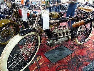 1912 Pierce Four For Sale At The 2016 Mecum Las Vegas Motorcycle Auction Mecum Cool Bikes Vintage Motorcycles