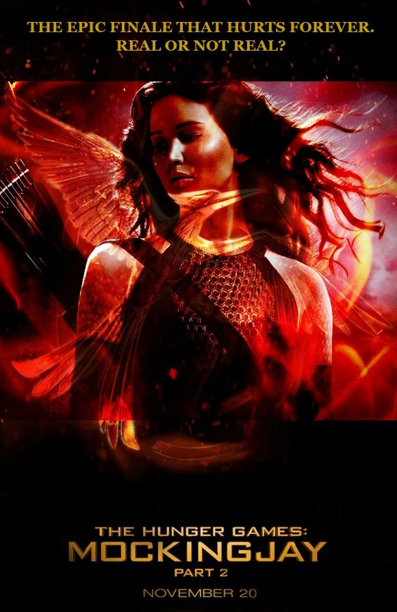 The Hunger Games: Mockingjay - Part 2. Cannot wait for the ...