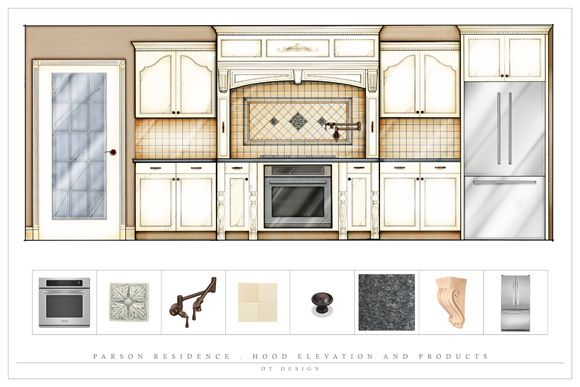 Kitchen Design Elevations portfolio - jeffrey blaine - design consultant | for design