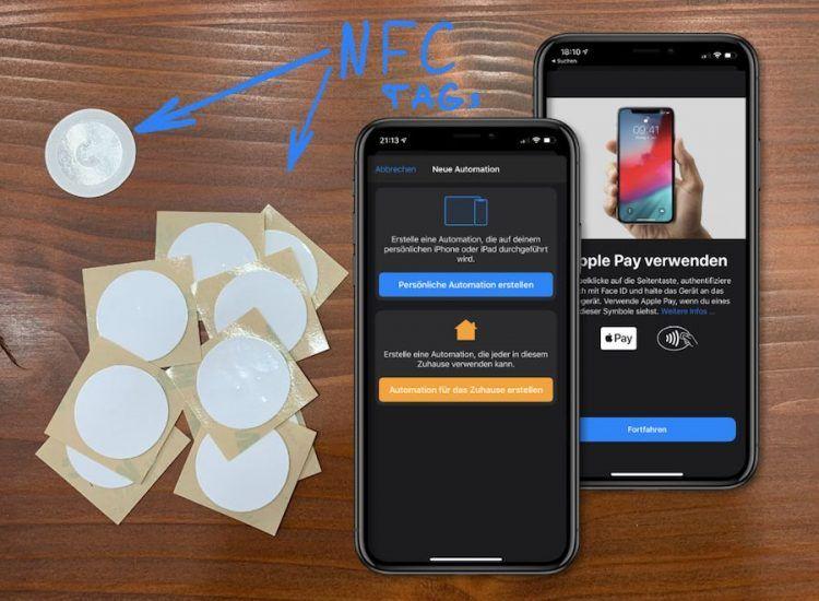Nfc am iphone nutzen apple pay nfctags mit bildern