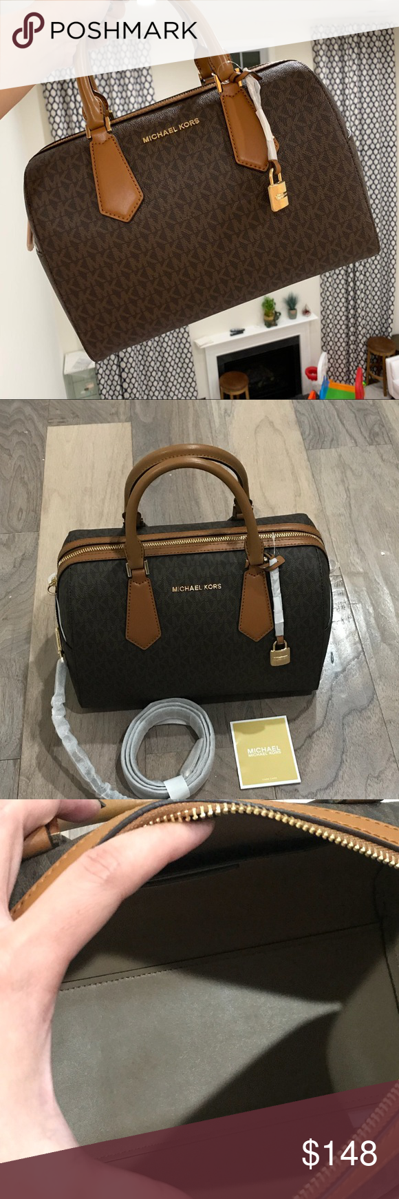 b0eac1041d8b Michael Kors Hayes Duffel Satchel Bag Price is Firm 100% Authentic MK  Michael Kors