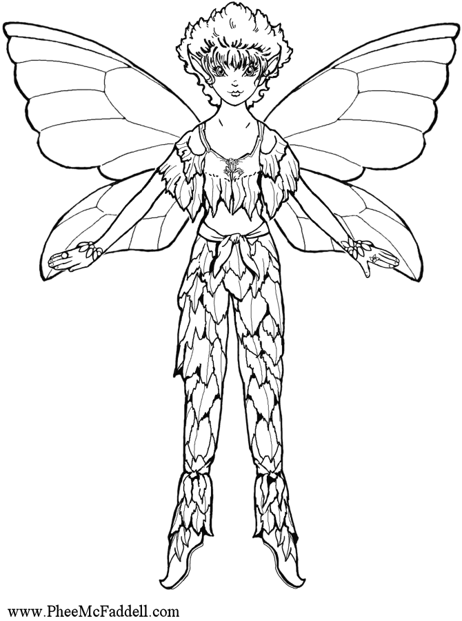 Flicker Fairy Puppet coloring and craft Project www.pheemcfaddell ...
