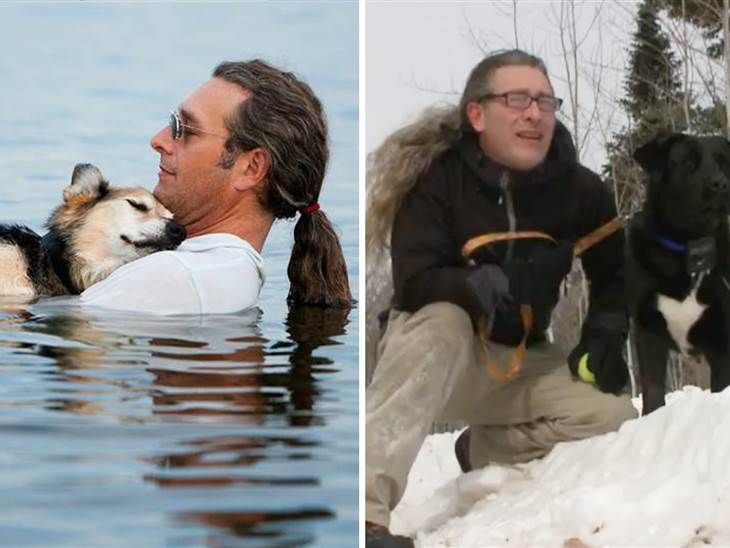 Man Holding Floating Dog In Viral Photo Adopts Rescue Puppy Fur