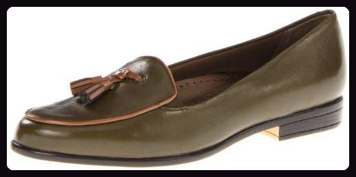 Trotters Leana Damen Grn Schmal Rund Slipper Schuhe Neu/Display EU 36 - Ballerinas für frauen (*Partner-Link)