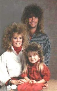 The Hair Family Portrait, I'm gonna Rock this with my lil one! Ha ha